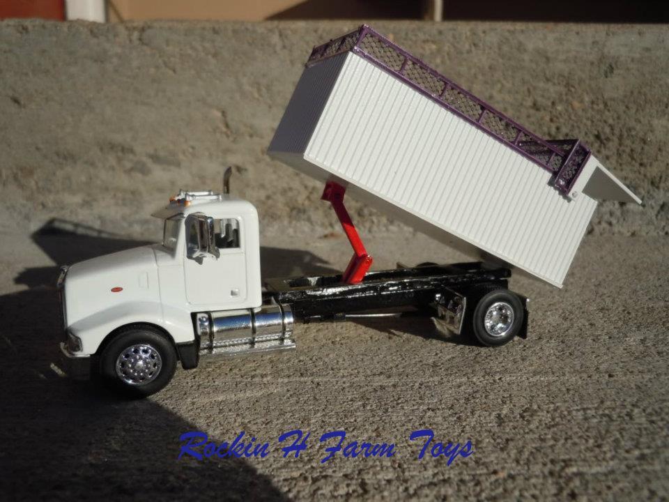 Custom Silage Trucks And Trailers Rockin H Farm Toys