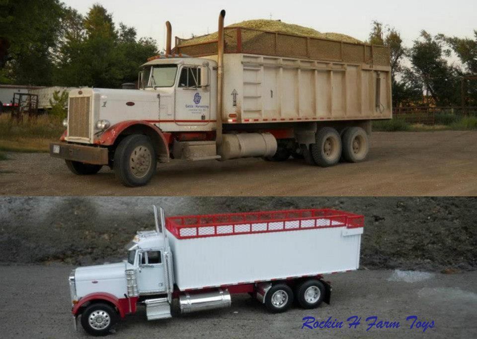 379 Peterbilt Silage Truck
