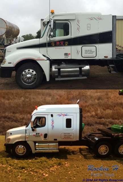 BT Harvesting's Freightliner Cascadia