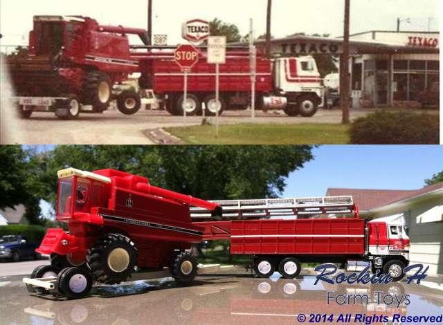 Haynes Custom Harvesting 1984