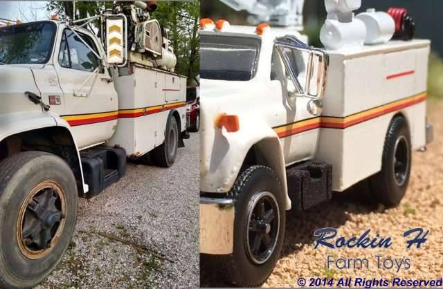 Aaron's Service truck