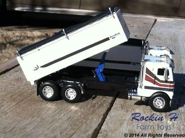 Freightlier grain truck twins